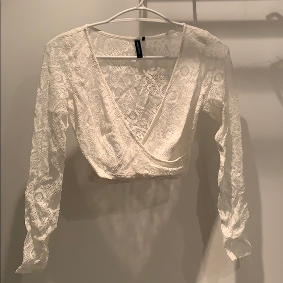 Marciano Tops - Marciano: Lace Top